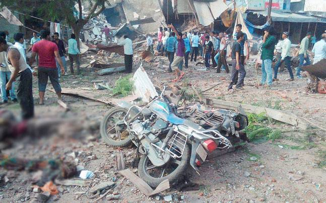 Jhabua explosion