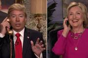 When Hillary Clinton and Donald Trump got chatty on The Tonight Show