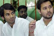 Bihar poll: Lalu Prasad fields two sons