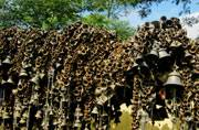 The sheer volume of bells at Tilinga Mandir in Tinsukia district will have you believe that wishes do come true here