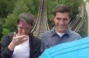 Must watch: Epic marriage proposal during a roller coaster ride is going viral
