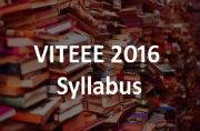 VITEEE 2016: Check the syllabus at vit.ac.in