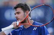 Wawrinka powers into fourth round of US Open