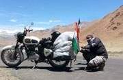 He biked solo to Ladakh and says it was the best decision ever