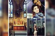 Akshay Kumar took time off from his Housefull3 shoot to explore Norwich with wife Twinkle