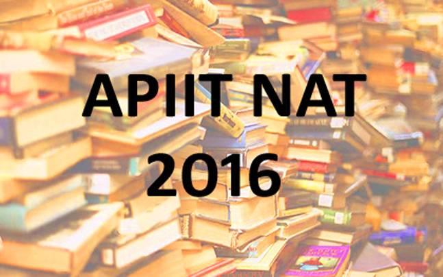 APIIT NAT 2016: Exam dates published