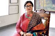Artist in residence: Jayasri Burman loathes comparisons with artist Shakti Burman