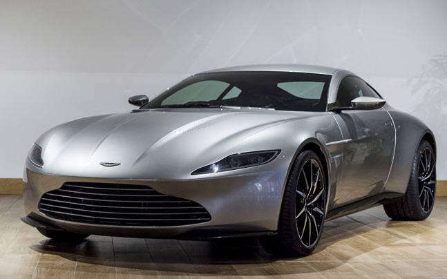 James Bonds DB Roars In To Aston Martin Works Auto News - James bond aston martin db10
