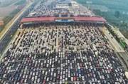 This 50-lane chock-a-block in Beijing will make your eyes pop out