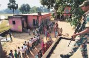 Bihar elections: Ballot scores over bullet in Red Zone
