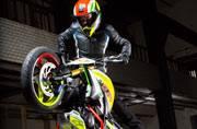 BMW Motorrad reveal Concept Stunt G 310 at Salao Duas Rodas