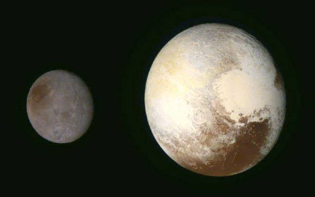 Pluto S Largest Moon Charon Is Much Like Earth S Moon All