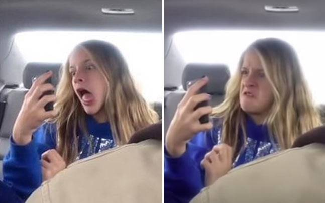 Must Watch: Dad films daughter during epic selfie session