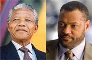 Guess who's playing Nelson Mandela in a mini-series based on his books