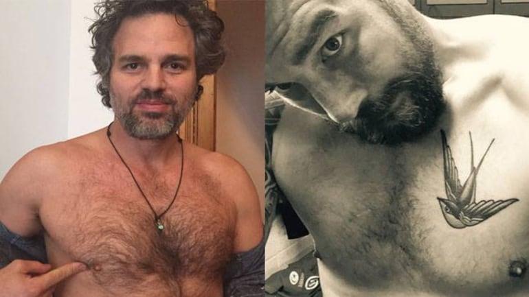 Why Are Mark Ruffalo Samuel Jackson Posting Shirtless Selfies Lifestyle News