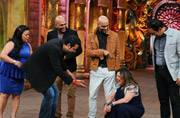 What did Krushna say that left Dolly Bindra pink-faced on Comedy Nights Bachao?