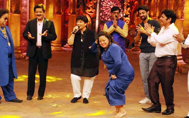 Bharti Singh, just being herself