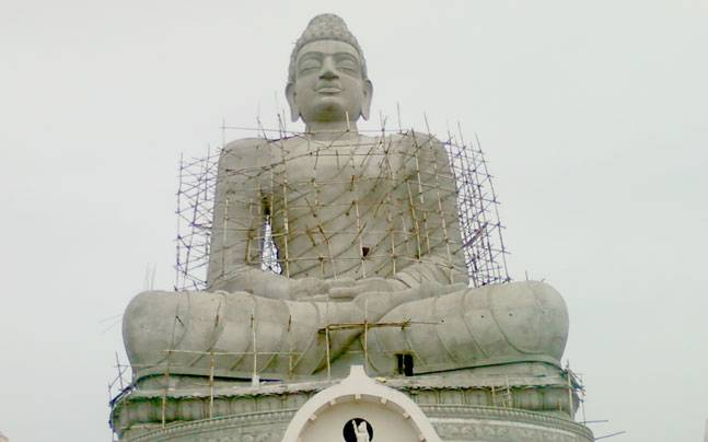 Andhra to crowdsource fund for its new capital india news dhyana buddha at dharanikota dhanyakataka in amaravathi the new capital of andhra pradesh malvernweather Image collections