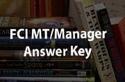 FCI MT 2015: Answer key to be released soon at fcijobsportal.com
