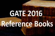 GATE Exam 2016: List of reference books