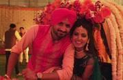 Photo of the day: Harbhajan Singh and Geeta Basra's big fat sangeet ceremony