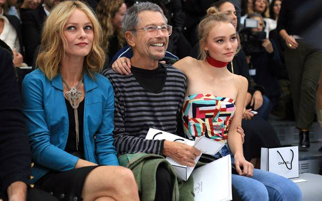 Spotted: Lily-Rose Depp and mother Vanessa Paradis at Paris