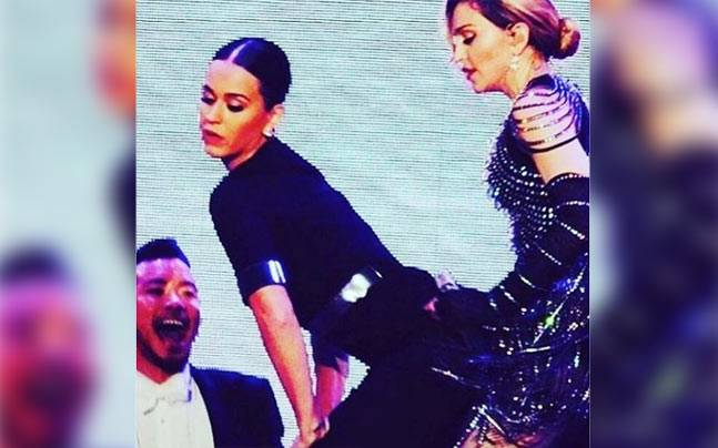 Watch Madonna Grinds Dirty Dances With Katy Perry Lifestyle News