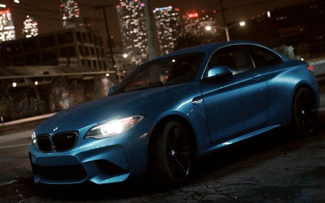Bmw M2 Coupe Debuts In New Need For Speed Game In November Auto News