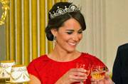 Kate Middleton makes one picture perfect princess in that tiara
