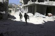 Syria attack escalated, Russian warships fire missiles