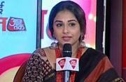 Will not return Padma Shri award: Vidya Balan at Aaj Tak's Manthan