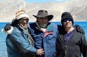 Three friends reunite for a road trip to Ladakh