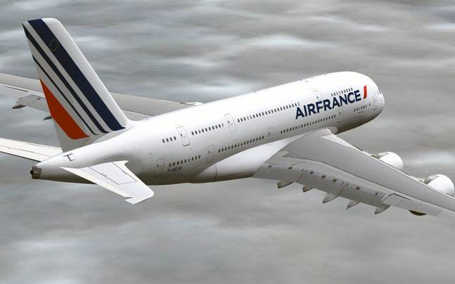 2 air france flights from us to paris diverted faa indiatoday air france plane sciox Image collections