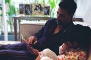 SEE PIC: Daddy Akshay's morning reading sessions for daughter Nitara
