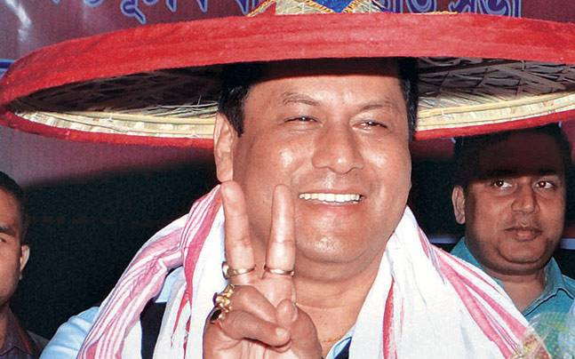 Sarbananda Sonowal has been appointed Assam BJP chief.
