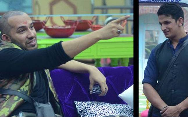 Ali Quli Mirza trying to order Prince around during the task.