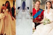 From Kim K to Kate Middleton: Five celebrity wedding dresses that broke the bank