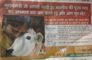 Bihar polls: Day before last phase, BJP attacks Nitish Kumar with 'Holy Cow' ad