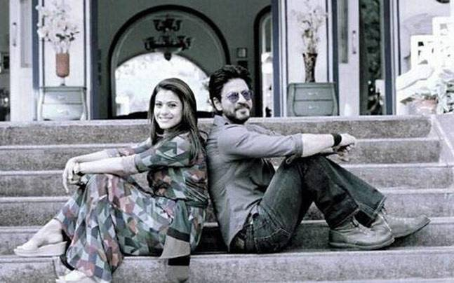 Dilwale: Here's how Shah Rukh Khan and Kajol's film poster looks like -  Movies News
