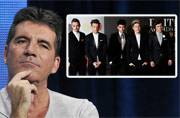 Simon Cowell receives top music award from One Direction