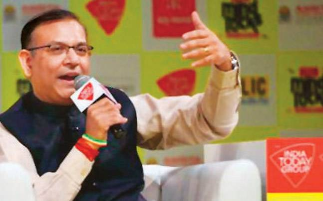 Minister of State for Finance Jayant Sinha