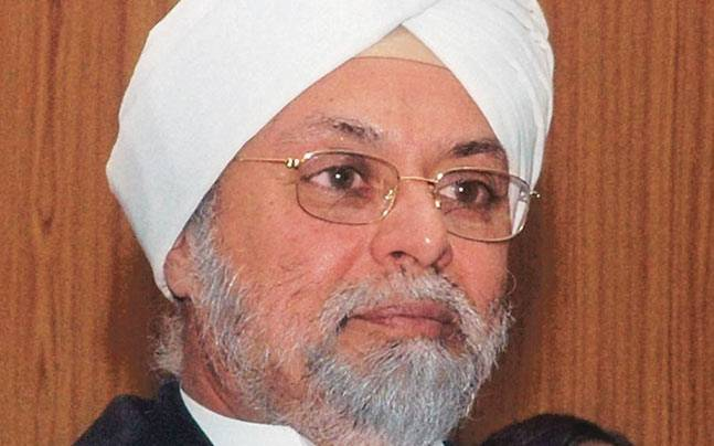 Supreme Court judge JS Khehar
