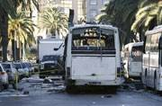 Tunisia says suicide bomber behind bus attack