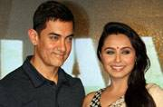 Rani Mukerji's baby Adira made Aamir Khan do this