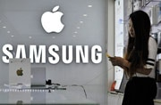 Apple asks court to make Samsung pay $180 million more in patent dispute