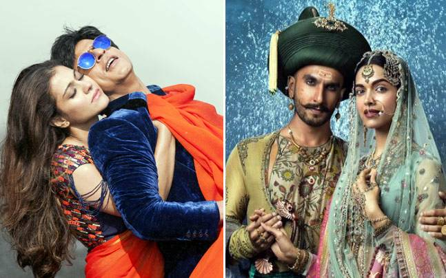 Bajirao Mastani and Dilwale both hit the screens on December 18, 2015