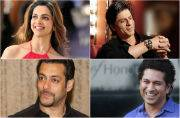 List of Top Ten Indian Celebrities released by Forbes