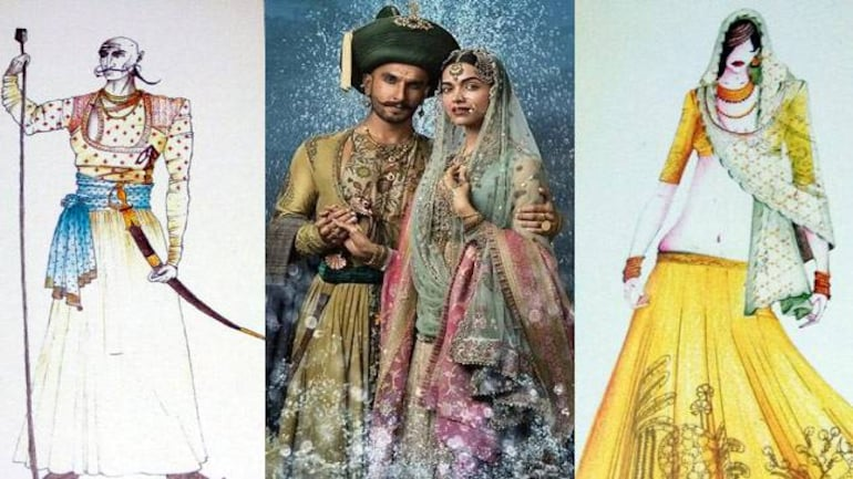 Bajirao Mastani And Kashibai Get Ready To Go From Sketch To Screen Lifestyle News