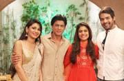 Shah Rukh Khan, Kajol, Varun Dhawan and Kriti Sanon go show-hopping on Zee TV