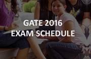 GATE 2016: Detailed examination schedule